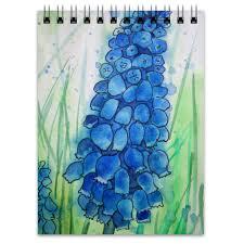 "Блокнот ""<b>Синий цветок</b>."" #1688288 от Anna Frank - <b>Printio</b>"