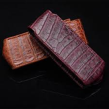 <b>Luxury Leather</b> Fashion Crocodile <b>Case for</b> Vertu Signature S CEO ...