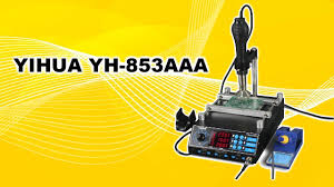 Ремонт <b>паяльной станции YIHUA</b> YH-<b>853AAA</b> от подписчика ...