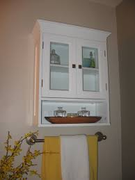 Small Wood Cabinet With Doors Small Wood Storage Cabinets With Doors On Onyx Tile Bathroom Floor