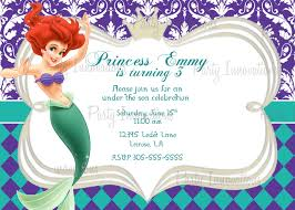 mermaid invitation template ctsfashion com best images of printable mermaid invitation template