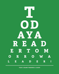 Image result for signs, eye chart