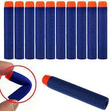 HiMo <b>100 Pcs</b> Blue Foam Darts for Elite <b>Series</b> Blasters Toy Gun ...