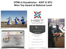 HTMi <b>in</b> Kazakhstan - KSIT @ ATU Wins <b>Top Award at</b> National Level