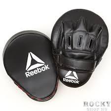 <b>Лапы боксерские Reebok Retail</b> Hook and Jab Pads - Black/Red ...