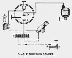 vdo performance instruments oil pressure no light