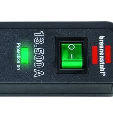 <b>Eco</b>-<b>Line</b> 13.500A extension socket with surge protection <b>3</b>-way ...