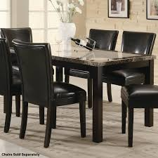 marble dining room furniture tables brown marble dining table and chair set