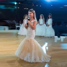 <b>2019 New Mermaid Flower</b> Girl Dresses for Wedding Jewel Neck ...