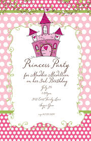 birthday invitations princess rmsteel info birthday invitations princess