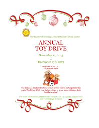 lscc toy drive nu student life flyer toy drive 2 copy