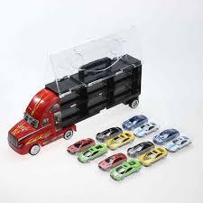 5pcs <b>1:64</b> Simulation Module <b>Diecast Alloy</b> Kid's <b>Toy</b> Vehicle Truck ...