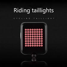 : Cozysmart 64 LED Automatic Direction Indicator <b>Bicycle</b> Rear ...