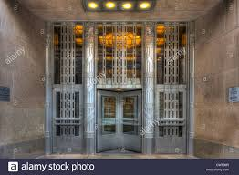stock photo the art deco entrance to the church street post office building in new york city new york art deco office