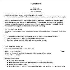 resume writing template – free sample  example format download    academic resume writing template for free