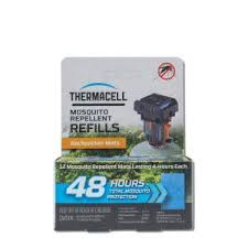 Thermacell Backpacker <b>Mat</b>-Only Refill 48 Hour Pack (12-<b>Repellent</b> ...