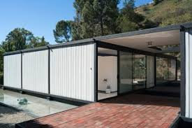 Case Study House architect Pierre Koenig was commissioned in      to design the glass and
