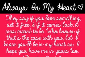 <b>Always In My Heart</b> Font | ByTheButterfly | FontSpace