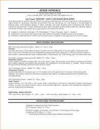 elementary teaching resume examples paradochart related for 5 elementary teaching resume examples