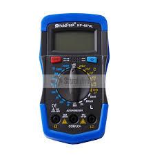 Original <b>HoldPeak</b> HP 4070L <b>Digital Capacitance Meter</b> Inductance ...