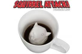 1 squirrel attack coffee mug awesome office accessories