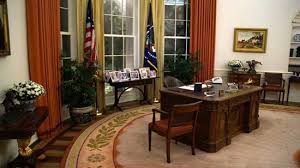one of the most popular exhibits at all presidential libraries is a replica of the oval office as it was during the presidents time air force 1 office