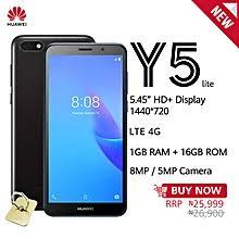 <b>Huawei Y5</b> Lite <b>5.45</b>-Inch HD+ (1GB, 16GB ROM) Android 8.1 Oreo ...