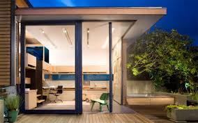 home office in the garden garden for office home office design by mgb architecture viahouse architects sliding door office