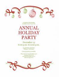 holiday party invitation template com holiday party invitation template