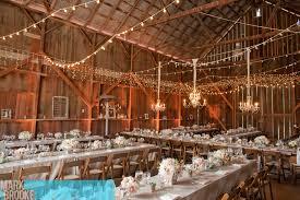 share this barn wedding lighting