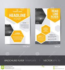 corporate hexagonal brochure flyer design layout template in a4 corporate hexagonal brochure flyer design layout template in a4