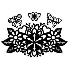 <b>Naifumodo</b> Flower Metal Cutting <b>Dies</b> Blossom <b>Butterfly</b> for Card ...