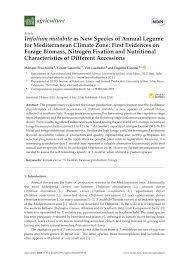 (PDF) Trifolium mutabile as New Species of Annual Legume for ...