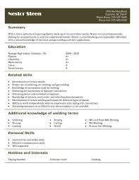 high school resume template samples     welder helper resume