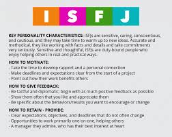 management how to manage every personality type experienced be specific isfjs