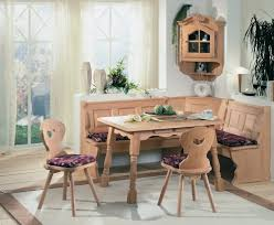 Unfinished Wood Dining Room Chairs Nook Tables Retro Style Unfinished Wood Nook Dining Set Nook