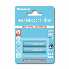 <b>Аккумулятор PANASONIC</b> Eneloop Lite <b>AAA</b> 550 2BP