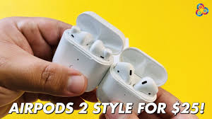 QCY <b>M18 TWS</b> Review - AIRPODS 2 STYLE FOR $25! - YouTube