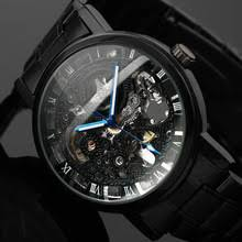 <b>Winner Watch Men Skeleton</b> Automatic Mechanical Watch Gold ...