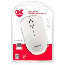 <b>Мышь беспроводная Smartbuy</b> ONE 370 бело-серая (SBM-370AG ...