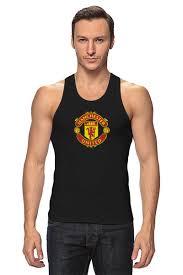 """Майка классическая """"<b>Манчестер Юнайтед</b>"""" #688817 от tailors ..."""
