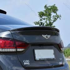 <b>Карбоновый спойлер крышки багажника</b> Genesis G80 ...