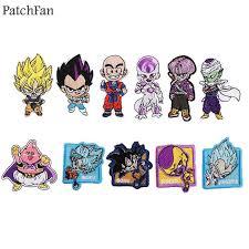 <b>Patchfan Dragon ball</b> Son goku diy applique patches iron on para ...