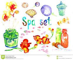 Spa Set: <b>Scented Candles</b>, <b>Aroma Oils</b>, Sea Shells, Basalt Stones ...