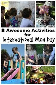 International Mud Day Activities for Preschoolers - Happy Hooligans