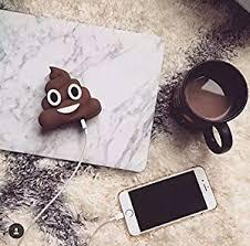 MSE Gadgets Appliances 8800 mAh Poops <b>Emoji</b> Portable <b>Cute</b> ...