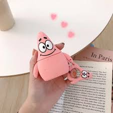 Patrick Star <b>Silicone Bluetooth Wireless Earphone</b> Airpods Case ...