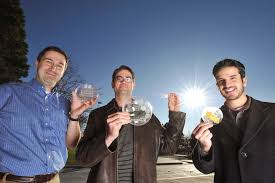 sandia national laboratories news releases glitter sized solar from left to right murat kandan greg nielson and jose luis cruz