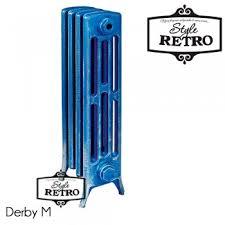 Купить Чугунный дизайнерский <b>радиатор RETROstyle Derby</b> M ...