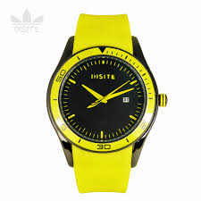 [Genuine ] DISITE silicone jelly watch <b>candy color fluorescent colors</b> ...